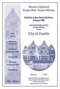 Zwolse Whisky 2014