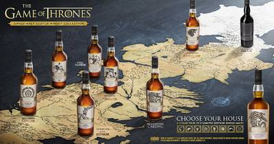 DiageoxGOT Game of Thrones Map SingleMaltWhiskies